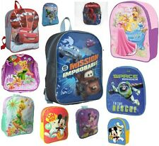 CHILDRENS NOVELTY / TV CHARACTERS SCHOOL BAGS / BACK PACKS /RUCK SACS GIRLS BOYS