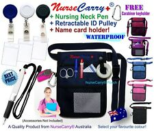 Nurse Carry® Pocket POUCH Quick Pick Bag + Drawstring Nurse PEN + ID Holder
