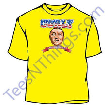 Bald Power Three Stooges Curly T-Shirt