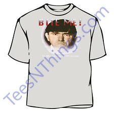 Three Stooges Bite Me Moe T-Shirt