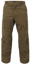 vintage style paratrooper pants military style fatigues russet brown rothco 2886
