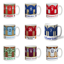 Personalised Football Shirt Dressing Room Mug Gift Idea - Christmas Offer