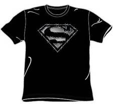 Barbed Wire Logo Superman T-Shirt