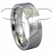 Zodiac Master Ring Band 12 Zodiac Signs 1 Stainless Steel Ring Size 7.5, 11, 13