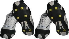 2 prs Winter Safety-Non Slip Ice Cleats/Snow Grabber/Grip,walking,fishing,hiking