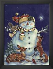 Snowman Christmas LIGHT SWITCH PLATE great holiday home decor