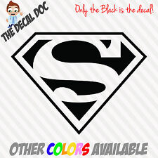 SUPERMAN Die Cut Vinyl Decal Sticker Logo Wall Car Macbook window iphone phone