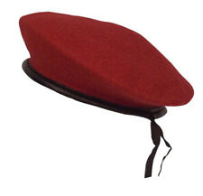 BERET MONTY WOOL MILITARY RED ROTHCO 45992