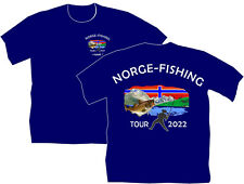 Angler T-Shirt Norge Fishing Tour Urlaub Norway Norwegen Fun Dorsch Angeln  116