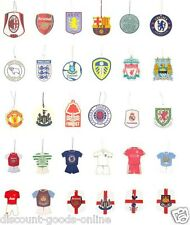 OFFICIAL LICENSED CAR AIR FRESHENER GREAT PREMIER OR LEAGUE CLUBS GIFT IDEA
