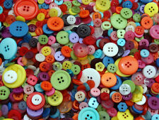 MIXED BUTTONS, ASSORTED BUTTONS 70grams BAG  LOTS OF COLOURS TO CHOOSE FREE P&P