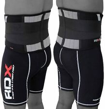 RDX Lumber Lower Back Support Belt Brace Pain Relif Gym Training Weight Lifting