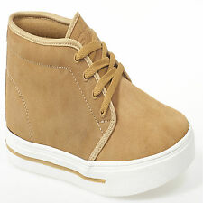 NEW MENS ANKLE SUEDE LEATHER HI HIGH TOP TRAINERS BOOTS SHOES VANS STYLE 6-11UK