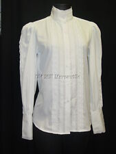Frontier Classics Pioneer Old West Settler Victorian white Grace Blouse sz S-3X