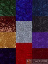 Velvet Crushed Upholstery Fabric / Sold by the yard