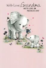 cute GRANDMA mother's day card - 5 x mothers day cards to choose from!
