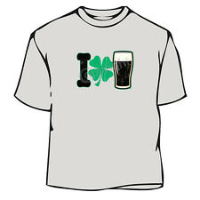 St. Patrick's Day I Love Beer Irish T-Shirt