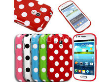 Polka Dot TPU Gel Case Cell Phone Cover Skin For Samsung Galaxy S3 Mini I8190