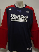 NEW Mens New England PATRIOTS NFL Team Apparel Shirt w/ Removable Sleeves