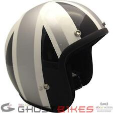VIPER RS-04 UNION JACK GREY GREAT BRITAIN OPEN FACE MOTORCYCLE SCOOTER HELMET