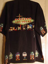 NEW WELCOME TO LAS VEGAS SLOT MACHINE SHIRT red or black MANY SIZES