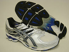 NEW Mens ASICS Gel Kayano 16 T000N 0159 White Royal Lightning Sneakers Shoes