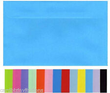 130mm x 180mm Envelopes 5 x 7  (20) Smooth Flat Colours Fits 5x7 inch PHOTOS