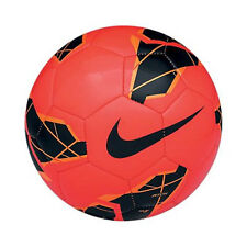 Nike T90 Total 90 Pitch Soccer Ball 2012 2013 Red - Black - Orange Brand New