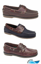 Waveline Clipper Deck Shoes Leather For yachting sailing etc