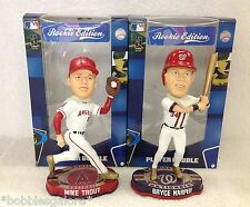 72 Made Bryce Harper Mike Trout  GOLDEN CLEATS Rookie Edition Bobble Bobbleheads