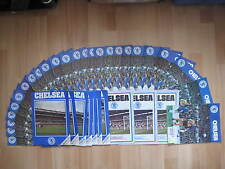 Chelsea Homes 1974-75 Division 1 + 1975-76 Division 2 + FAC + LC + ASC