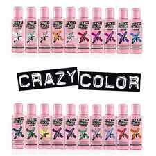 Crazy Color Hair Dye 100ml. Choose your colour (26 Colours available)