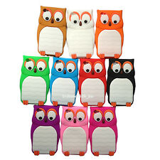 1pc Soft 3D Cute Owl Gel Silicone Case Cover For Ipod Touch 4 4th Gen 8G 16G 32G