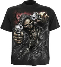 Spiral Direct ASSASSIN t-shirt/tee/top/tshirt biker/goth/punk/tattoo/reaper/rock