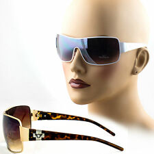 Womens Sunglasses One Piece Shield Lens Fashion Designer Celebrity New VP1051M