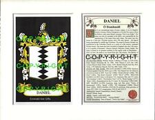 DANIEL to DECKER - Your Family Coat of Arms Crest & History
