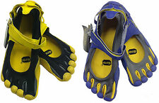 Unisex Five Finger Sprint Multisport Shoes - Blue - Yellow