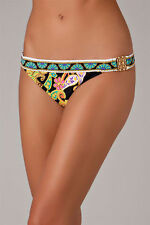 $76 Trina Turk Nandini Buckle Side Hipster Bottom Bikini Swimsuit 12