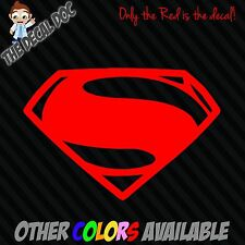 MAN OF STEEL SUPERMAN Die Cut Vinyl Decal Sticker Logo Wall Car Macbook iphone