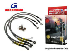 Goodridge For Renault Avantime Fronts and Mids only Braided Brake Kit Lines Hose