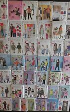 McCall's Children's Clothing  Sewing Patterns, new, uncut, sold individually