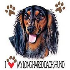 Longhaired Dachshund Love Dress Nightshirt Coverup Pick Your Size