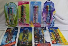 Disney Marvel DC Package of 4 Pop-Up Pencils Party Favors School Drawing *New*