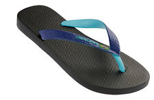 Ipanema Bicolour Mens Flip Flops / Sandals - Black & Blue 81046 - See Sizes