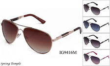 Mens Quality Aviator Sunglasses Spring Hinge Shades Sunnies Retro 501