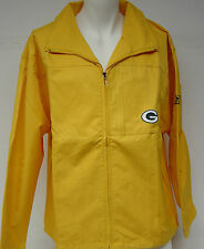 NEW Mens REEBOK On Field Green Bay PACKERS NFL Football Heavy Wind Jacket