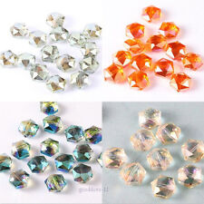 Wholesale Firepolished glass Seed Spacer beads Jewelry Making DIY Pick 11*12mm