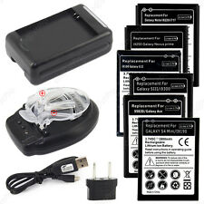 Chargeur Et/Ou Batterie 3,7V Serie Samsung Galaxy S, S2, S3, S4, S5, Ace, Note