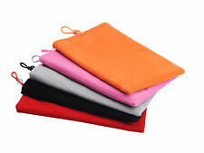"""Universal 7"""" Soft Cloth Protected Case Bag Cover For 7 inch Tablet PC PDA Phone"""