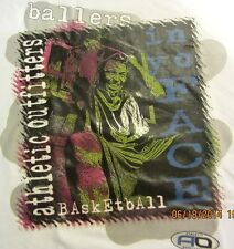 NEW! Mens BALLERS IN YO FACE Basketball Player Slam Dunk T-Shirt M to 3X
